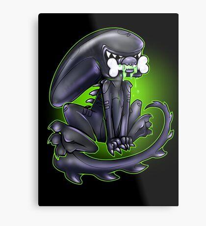 Alien Xeno Metal Print