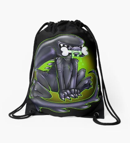 Alien Xeno Drawstring Bag