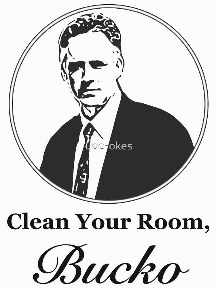 Clean Your Room, Bucko Jordan Peterson by Joe-okes