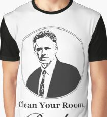Clean Your Room, Bucko Jordan Peterson Graphic T-Shirt