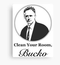 Clean Your Room, Bucko Jordan Peterson Canvas Print