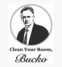 Reinigen Sie Ihr Zimmer, Bucko Jordan Peterson Fotodruck