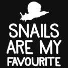 Snails are my favourite by jazzydevil