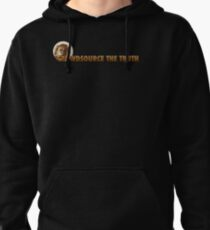 Crowdsource The Truth Logo Gear Pullover Hoodie
