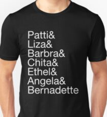 Broadway Divas (white) Unisex T-Shirt