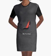 Head over heels Graphic T-Shirt Dress
