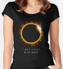 Total Solar Eclipse August 21 2017 Women's Fitted Scoop T-Shirt