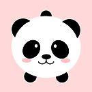 «Precioso oso panda kawai» de EuGeniaArt