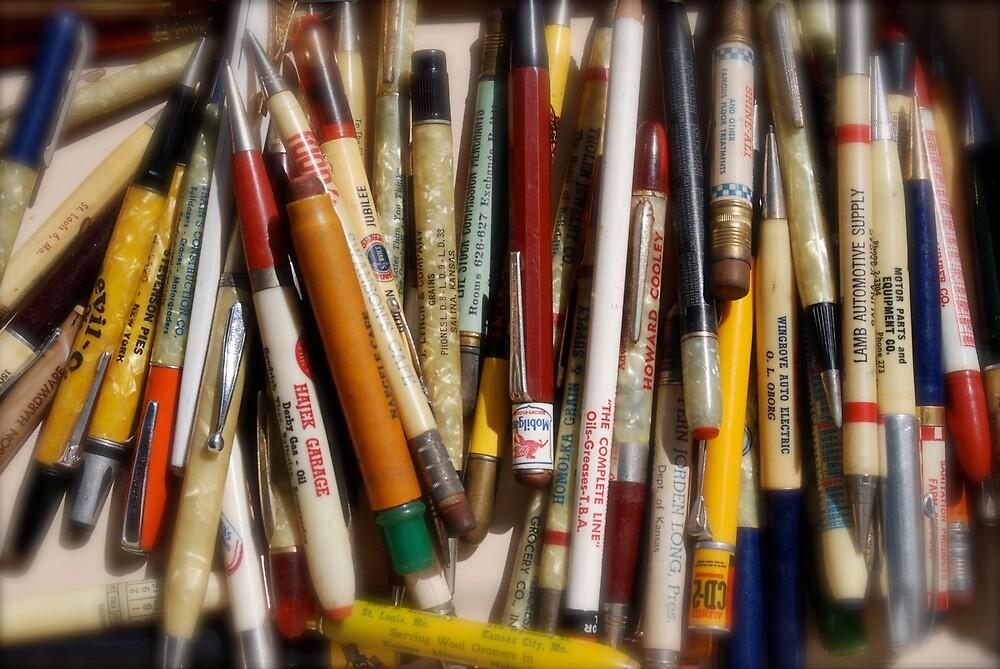 Pencils & Pens by Robert Baker
