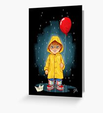 Chucky - IT Greeting Card