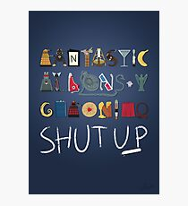 Words to Save the World By Photographic Print