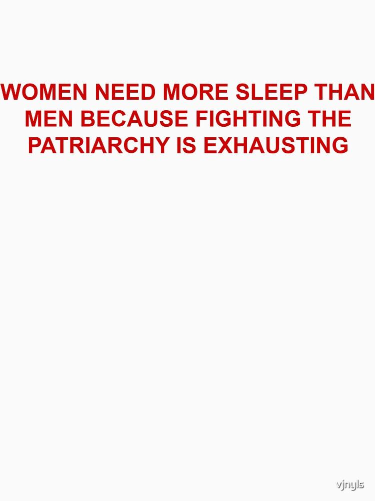 women need more sleep by vjnyls