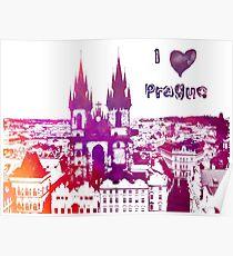 Ich liebe Prag Poster