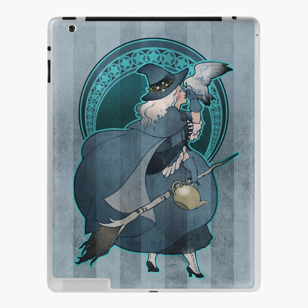 White Witch - Bruja Blanca iPad Case & Skin