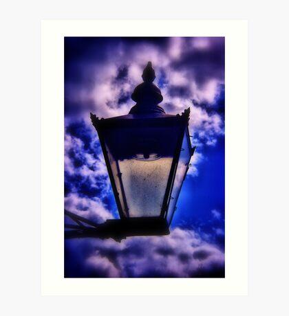 The Blue Lamp Art Print