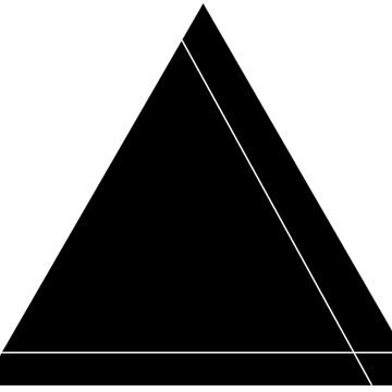 Almost Solid Triangle by ArtByKE