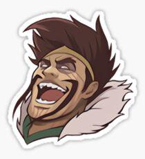 Draven Laugh Sticker