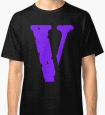Vlone letter V Purple logo Classic T-Shirt