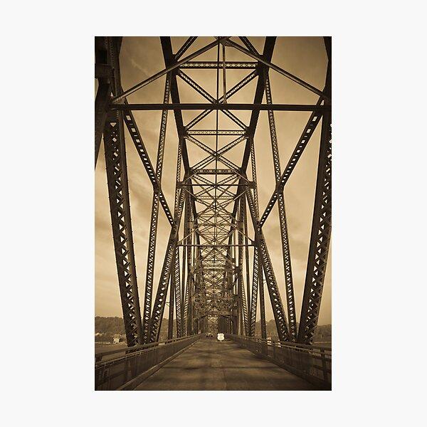 Chain of Rocks Bridge (Alan Copson ©) Photographic Print