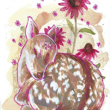 """""""Echinacea"""" by thimblesandbones by mamawolf9013"""