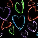 Colorful Hearts by CarolM