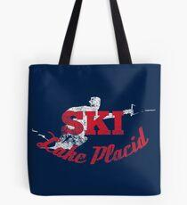 Lake Placid Waterski Shirt  Tote Bag