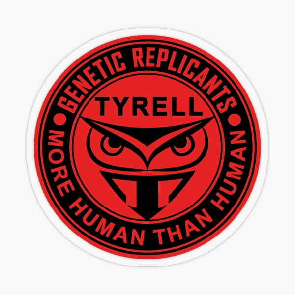 Tyrell Corporation Transparent Sticker