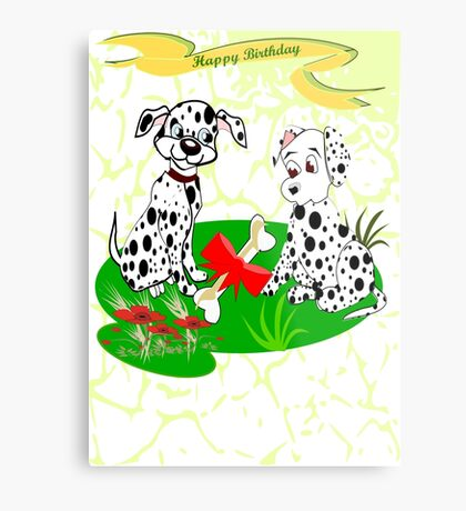Spotty's  Birthday (8645 Views) Metal Print