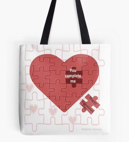 Valentine (228 views) Tote Bag