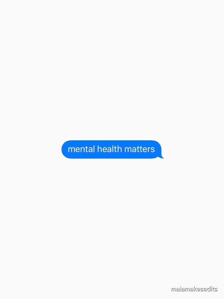 Psychische Gesundheit ist wichtig! von maiamakesedits