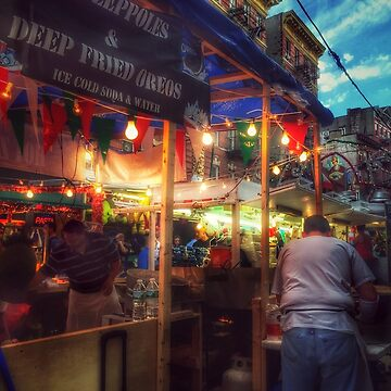 At The Feast Of San Gennaro - Deep-fried Oreos by mimmi12