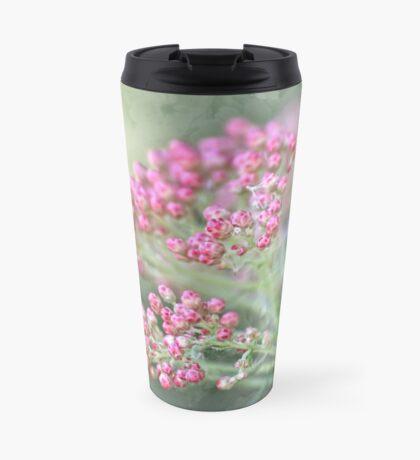 Reis-Blumentapisserie Thermobecher