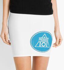 Triangle P101 - Blue Mini Skirt