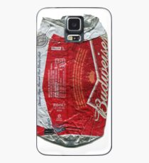 Budweiser - crushed tin Case/Skin for Samsung Galaxy