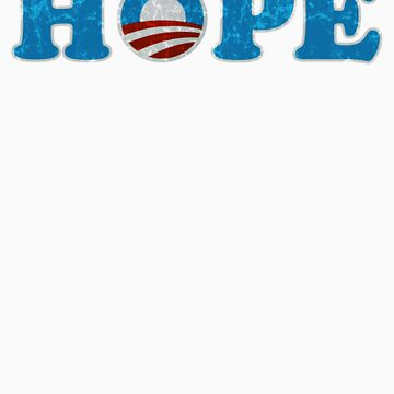Barack Obama Hope t shirt by barackobama