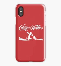 Calvin and Hobbes COKE iPhone Case/Skin