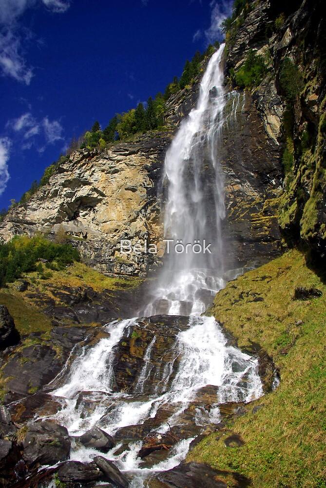 Fallbach waterfall by Béla Török