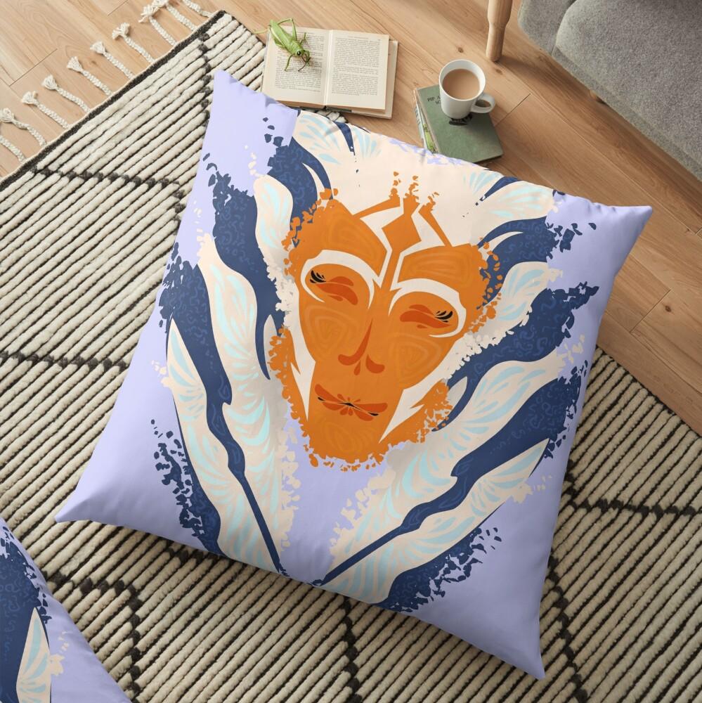 Colour Burst Floor Pillow