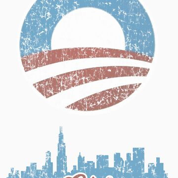 Chicago for Obama t shirt by barackobama