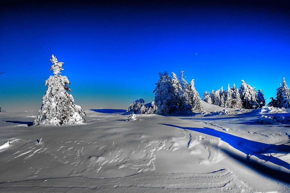 Snow from another planet! by Agoe