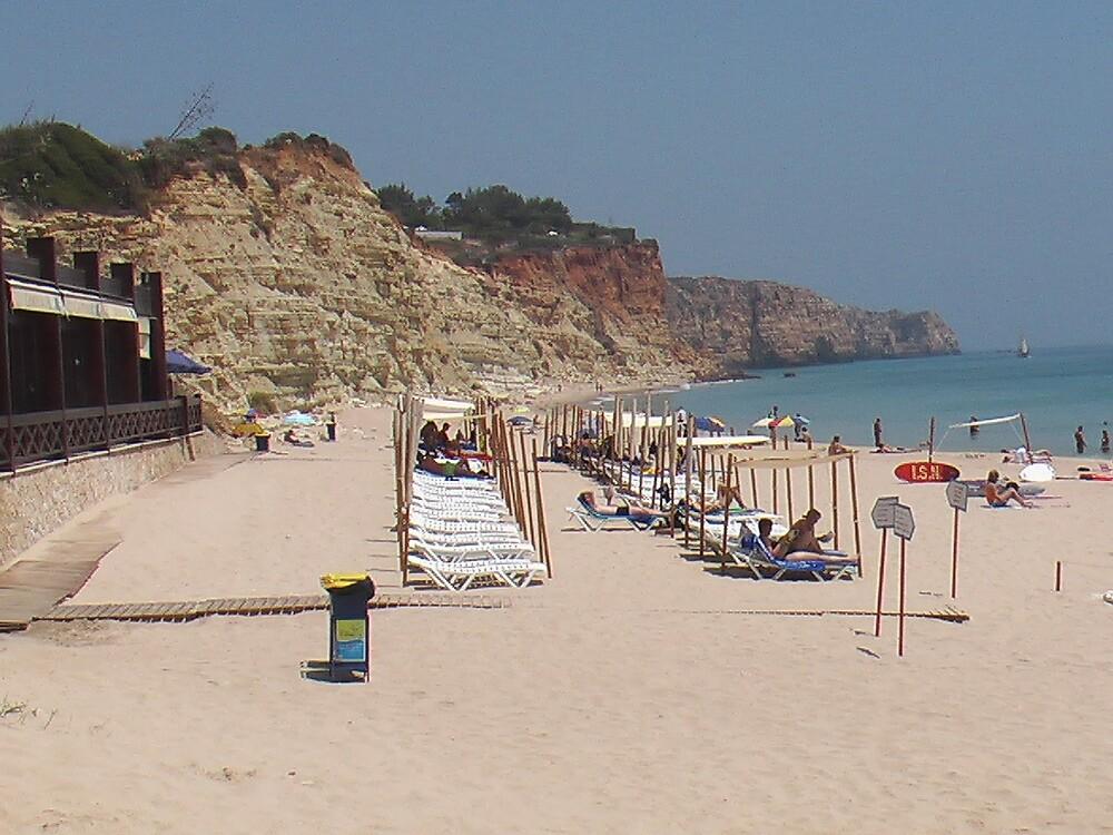 The beach in Portugal by Daniel Simoes