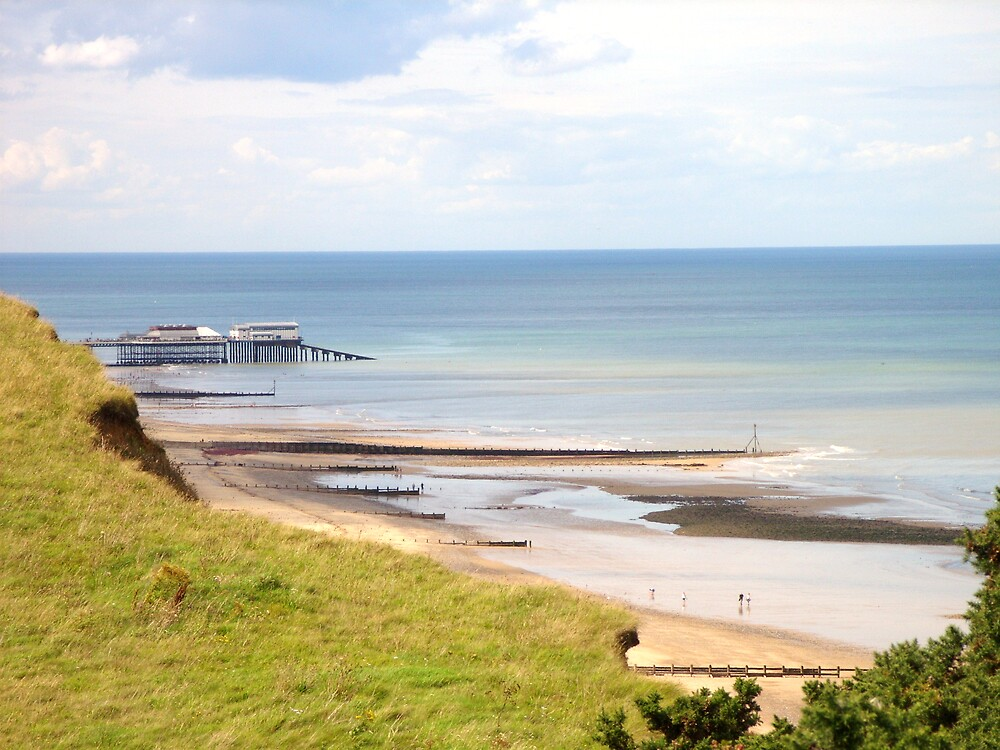 cromer pier from overstrand by cromerpaul