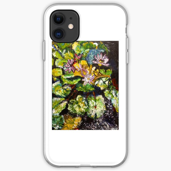 Lily Pond by Malinda Knowles iPhone Soft Case