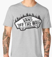 Vans Off The Wall Thrasher Flame Men's Premium T-Shirt