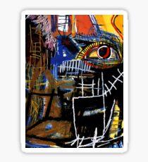 Jean-Michel Basquiat - Head 1981 Sticker