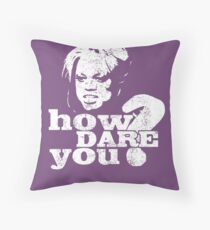 Be Quiet, Tiffany Throw Pillow