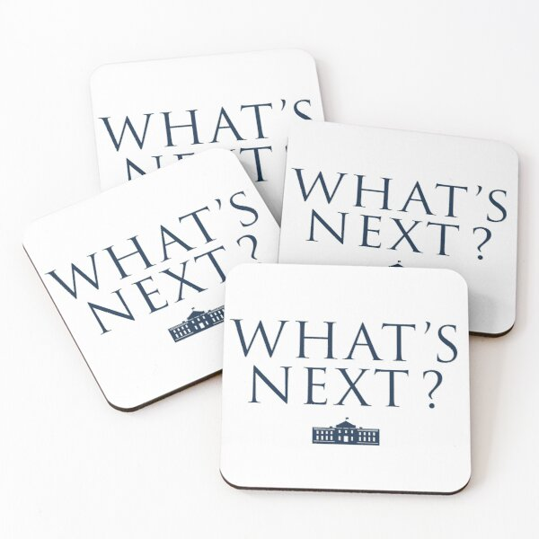 What's Next? West Wing Coasters (Set of 4)