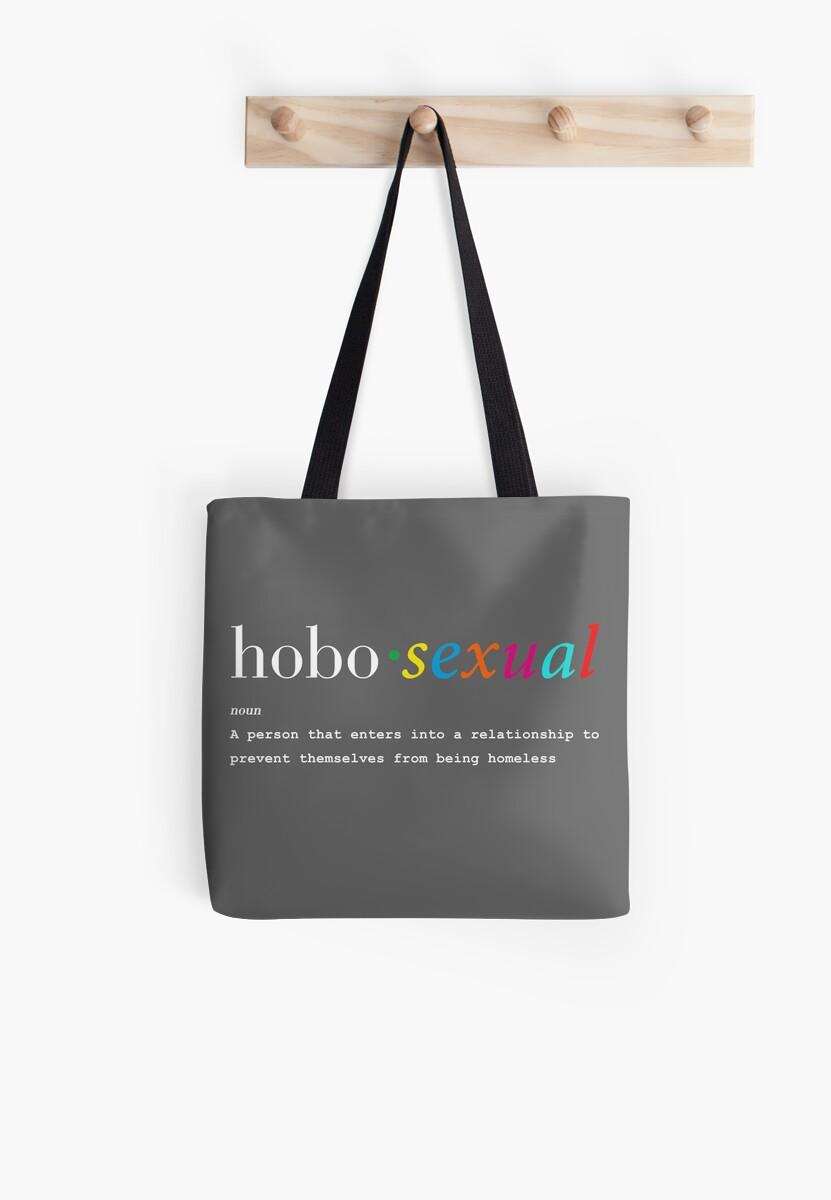 Hobosexual hobo