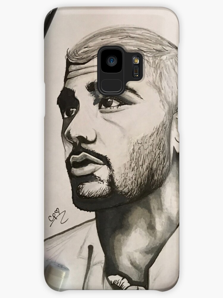 Zayn Malik Magazine Cover Drawing Cases Skins For Samsung