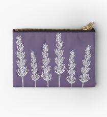 Lavender Zipper Pouch